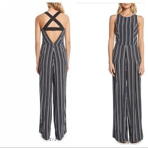 Size small stripped jumpsuit